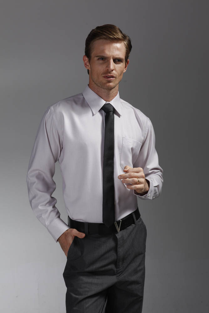 男款羊绒衬衣