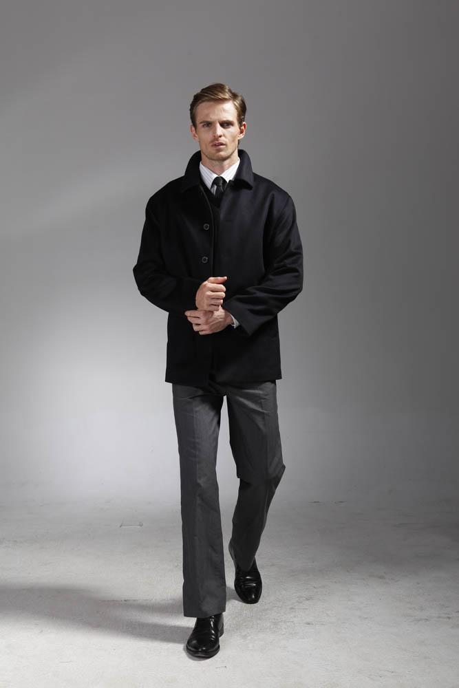 男款羊绒大衣