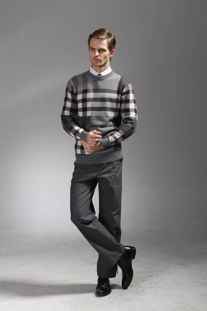 男款羊绒衫